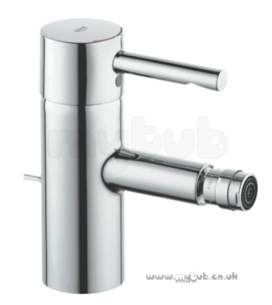 Grohe Tec Brassware -  Grohe Grohe Essence Bidet Mixer Pop Up Waste 33603000