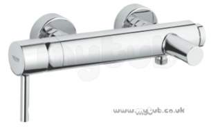 Grohe Tec Brassware -  Grohe Essence Wall Mounted Bath Shower Mixer 33624000