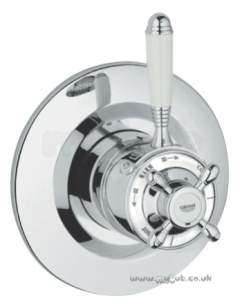 Grohe Shower Valves -  Grohe Avensys 34114il Dual Thrm Conc Valve Chrome Plated Obsolete