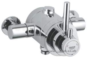 Grohe Shower Valves -  Grohe Avensys Modern 34222 Therm Shower Exp Cp 34222000