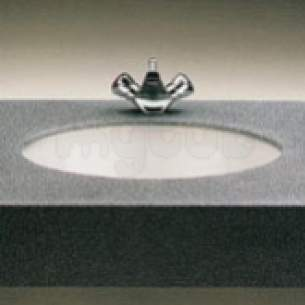 Twyfords Commercial Sanitaryware -  Aria Wb2050 560 X 410mm Nth C/t Basin White Replaced Wb2060wh