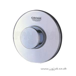 Grohe Commercial Products -  Air Button 37060 100mm Chrome For Frames