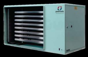 Powrmatic Oil and Gas Fired Air Heaters -  Powrmatic Nv40c Gas Unit Heater 40kw