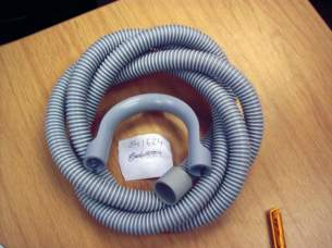 Invicta Hoses Domestic Appliances -  Invicta Hose Drain 2.5 Meter Packed Wall Mounted
