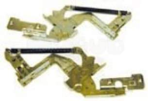 Electrolux Group Spares Standard -  Zanussi 50247623007 Door Hinge Kit Zd604