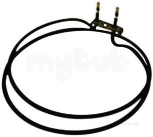 Stoves and Belling Cooker Spares -  Belling 082605118 Element Grill Half