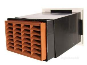 Passive Ventilation Grilles -  Stadium Vario Vent With Brick Bm701/3