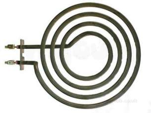 Invicta Cooker Spares -  Inv Chp008 Radiant Ring 7inch Single 1800w