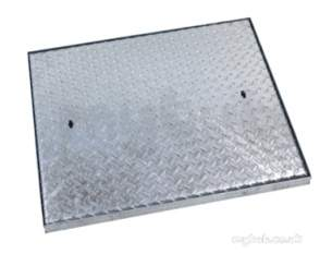 Manhole Covers and Frames Steel and Galv -  Clark Drain C9bg 750x600x5t Galc Mcf