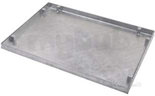 Manhole Covers and Frames Steel and Galv -  900x600mm Tray 5t Sealed/locked T36g3