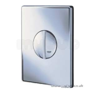 Grohe Commercial Products -  Grohe Tenso Wc Wall Plate S/flush Cp