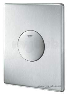Grohe Commercial Products -  Skate 38672sd0 Stainless Steel Single Flush Plate