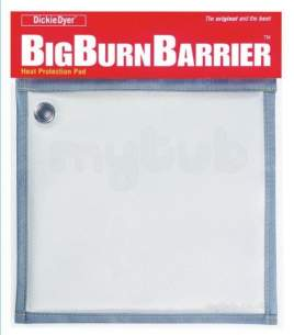 Cleaning Brushes and Asbestos Pads -  Big Burn Barrier Heat Protection Mat