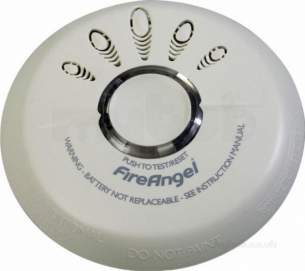 Residential Fire and Smoke Prevention -  Fireangel S0-601 Smoke Alarm Opt Ion 1yr