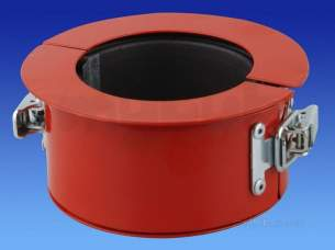 Osma Above Ground Drainage -  4s001 Osma 110mm Fire Stop Seal