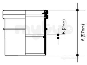Hepworth Soil and Rainwater -  Hepworth Building 3 Inch Single Socket S2/3-b