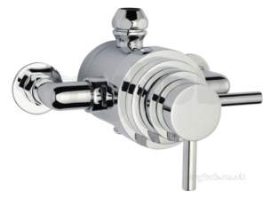 Eastbrook Brassware -  Prime 3/4 Dual Lever Valve Exposed Ch