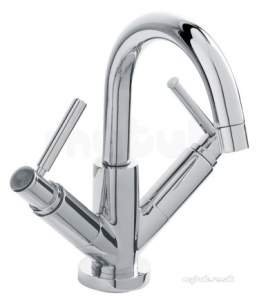 Eastbrook Brassware -  4.1229l Tec Lever Head Mono Basin Small