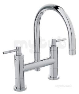 Eastbrook Brassware -  4.1230l Tec Lever Head Deck Bath Filler