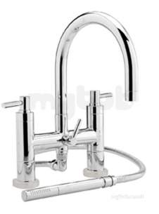 Eastbrook Brassware -  4.123l Tec Lever Head Deck Bsm C/w Kit