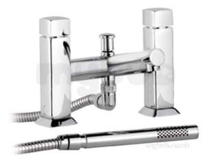 Eastbrook Brassware -  4.1251 Kia/jule Deck Bsm C/w Shower Kit