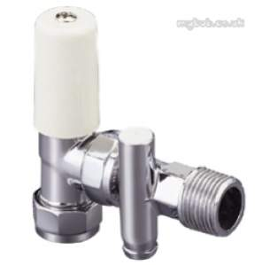 Terrier and Belmont Radiator Valves -  Terrier 367d 8mm X 1/2 Inch Mi Angle Ls/brass