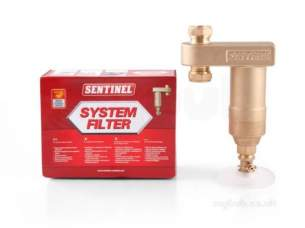 Sentinel Products -  Sentinel System-filter-gb Na 22mm Water Boiler Magnetite System Filter