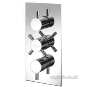 Pegler Shower Fittings -  Tidal Thermo Concealed Shower And Diverter