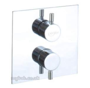 Pegler Shower Fittings -  Pegler Chara Thermo Concealed Shower