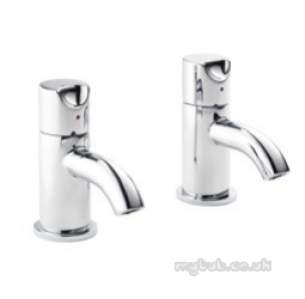 Pegler Opal and Slique Brassware -  Slique 4l2001 1/2 Inch Basin Pillar Taps
