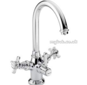 Pegler Contract Brassware -  Brita 100539 3-way Rosedale Filter Tap