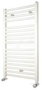 Myson Economist Towel Warmers -  Myson Ftgecos125w White Avonmore Multi-rail Towel Warmer 125 Straight