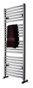 Myson Economist Towel Warmers -  Myson Ftgecoc126c Chrome Avonmore Multi-rail Towel Warmer 126 Curved