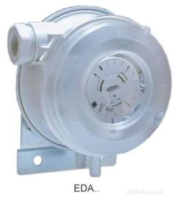 Electro Controls -  Electro Controls Eda-33w Air Difference Pressure Switch 0.5/5mbar