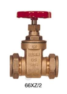 Gate Valves -  22mm Wheelhead Cxc Gate Valve Patt 66xz