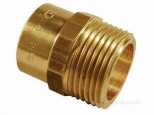 Yorkshire General Range Yp -  Yorkshire Yp3 42x1.1/2 Inch Straight Male Iron Connector