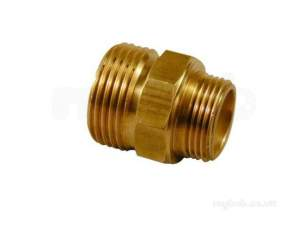 Yorkshire General Range Yp -  Yorks Yp70 1x 3/4 Inch Male Hex Nipple