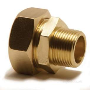 Yorkshire Kuterlite 900 Range -  Kuterlite 911 15mm X 3/4 Inch Mi Coupling