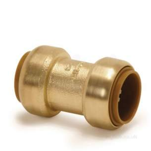 Yorkshire Tectite Fittings -  Yorks Tectite T1 22mm Str Coupling