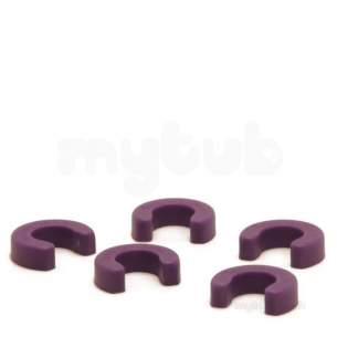Yorkshire Tectite Fittings -  Yorks Tectite 28mm Disconnecting Clip