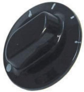 Indesit Domestic Spares -  Cannon 6601125 Mk2 N-harvest Grill Knob