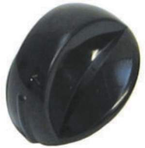 Indesit Domestic Spares -  Cannon 6602737 Camberley Knob Brown