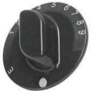 Indesit Domestic Spares -  Cannon 6603038 Winchester Oven Knob Br