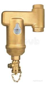 Spirovent Brass Units -  Spirotech Spirovent Dirt Sv3-020-tv