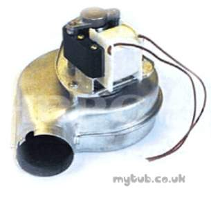 Halstead Heating Boiler Spares -  European Gem 870017 Fan Assy