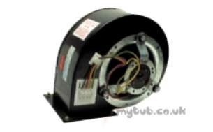 Johnson and Starley Boiler Spares -  Johnson And Starley Johns Hr22-0118005 Fan Assy
