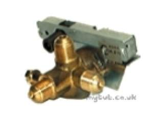 Baxi Boiler Spares -  Main 2051017 Gas Tap And Piezo Jca 875