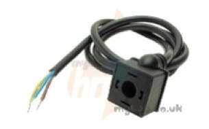 Nuway Burner Spares -  Dungs E01-162t Lead 1m For Solenoid Valve 240