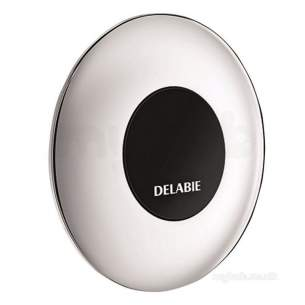 Delabie Shower Valves -  Delabie Tempomatic Cross Wall 150mm Shower Valve M1/2 Inch Mains 230/12v