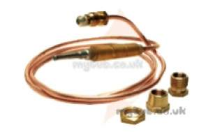 Thermocouples Boiler Spares -  Cb Thermocouple Gas Fire Univ 900mm